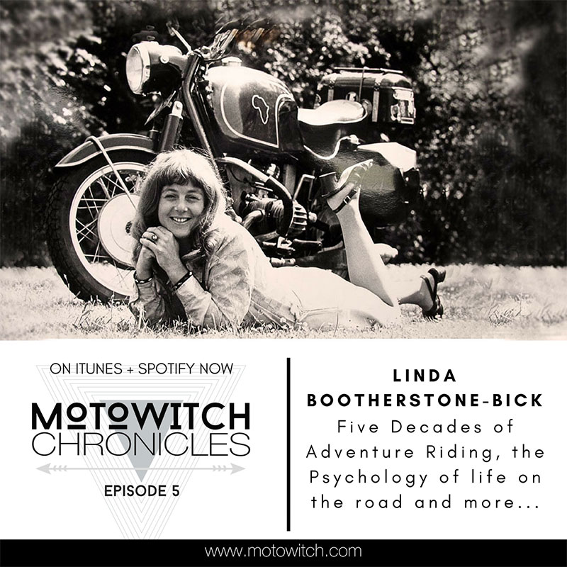 Linda Bootherstone Bick 5 Decades Of Adventure Riding Motowitch